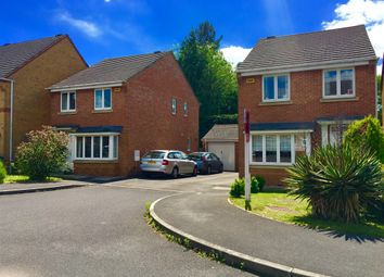 Thumbnail 3 bedroom detached house for sale in Weybridge Close, Sarisbury Green, Southampton