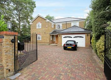 Thumbnail 5 bed detached house to rent in Bendochy, Ellesmere Road, Weybridge