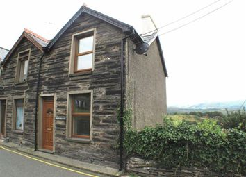 Thumbnail 2 bed link-detached house for sale in Fron Heulog, Penrhyndeudraeth, Gwynedd