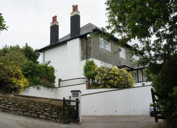 Thumbnail 4 bed detached house to rent in Old Falmouth Road, Truro