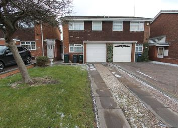 Thumbnail 3 bed semi-detached house to rent in Woodfort Road, Great Barr Birmingham