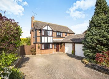 Thumbnail 4 bed detached house for sale in Mountbatten Drive, Ringstead, Kettering