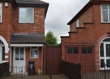Thumbnail 1 bedroom end terrace house for sale in Ambassador Road, Leicester