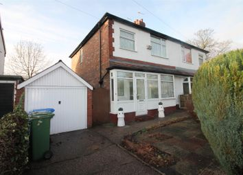 Thumbnail 3 bed semi-detached house for sale in Craig Avenue, Urmston, Manchester