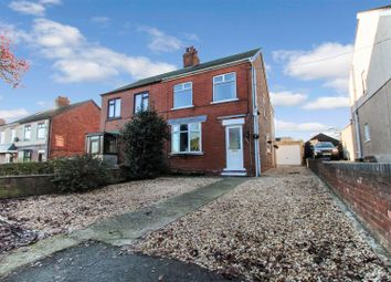 Thumbnail 3 bed semi-detached house for sale in Messingham Road, Bottesford, Scunthorpe