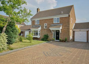 Thumbnail 4 bedroom detached house for sale in Gazelle Close, Eaton Socon, St. Neots