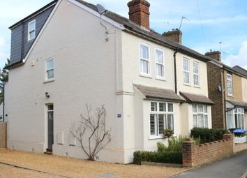 Thumbnail 4 bed semi-detached house for sale in Station Road, West Byfleet, Surrey