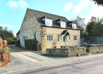 Thumbnail 4 bed detached house for sale in Oundle Road, Woodnewton, Peterborough