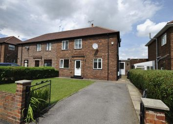 Thumbnail 3 bed semi-detached house to rent in Crown Road, Tickhill, Doncaster