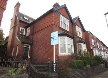 Thumbnail 4 bed semi-detached house for sale in Dulverton Road, Leicester