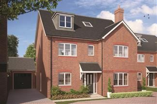 Thumbnail 5 bedroom detached house for sale in Arbor Lane, Winnersh