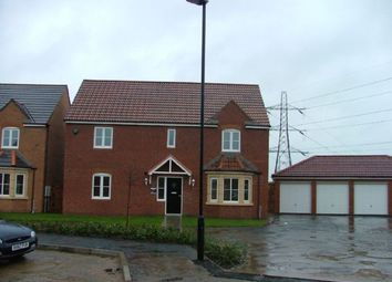 Thumbnail 4 bed detached house to rent in Cloverfield, West Allotment, Newcastle Upon Tyne