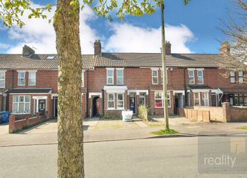 Thumbnail 3 bed terraced house for sale in Cecil Road, Norwich