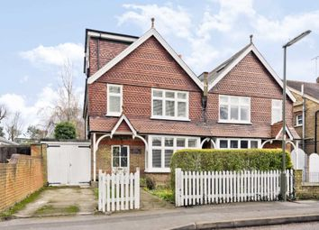 Thumbnail 4 bed semi-detached house for sale in Angel Road, Thames Ditton