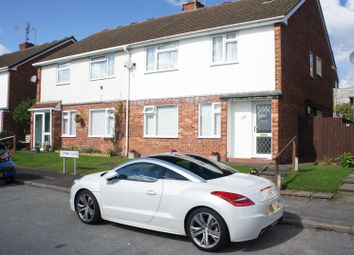 Thumbnail 2 bed flat for sale in Combe Close, Leicester
