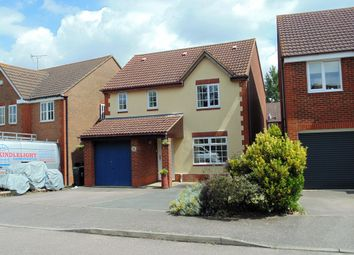 Thumbnail 4 bed detached house for sale in Lilac Grove, Rushden