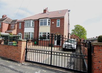 Thumbnail 3 bed semi-detached house for sale in Brexdale Avenue, Kippax, Leeds
