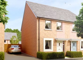 "Thumbnail 2 bed semi-detached house for sale in ""The Lacock"" at Amesbury Road, Longhedge, Salisbury"