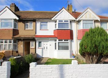Thumbnail 3 bed terraced house for sale in Hillrise Avenue, Sompting, West Sussex