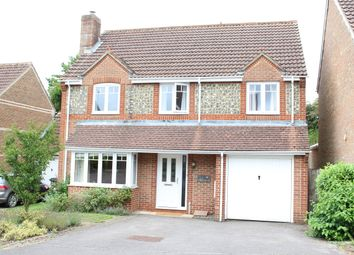 Thumbnail 5 bed detached house for sale in Aldbourne Close, Hungerford
