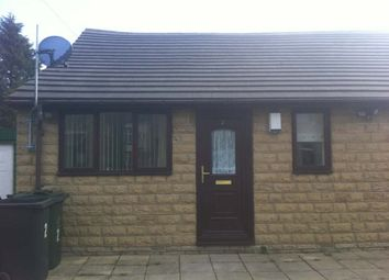 Thumbnail 1 bed semi-detached bungalow to rent in Oddy Street, Tong, Bradford