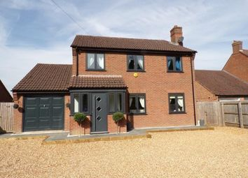 Thumbnail 4 bed detached house for sale in Upwell, Norfolk