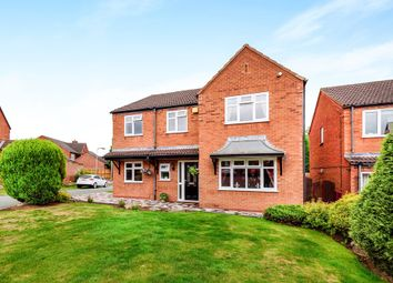 Thumbnail 4 bed detached house for sale in Garnet Close, Stonnall, Walsall
