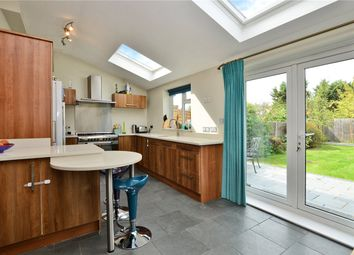 Thumbnail 4 bed town house for sale in Meadow Close, Raynes Park, London