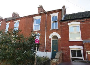 Thumbnail 3 bedroom terraced house for sale in Beaconsfield Road, Norwich
