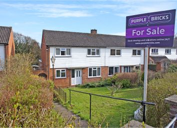 Thumbnail 3 bed semi-detached house for sale in Middlemoor Road, Camberley