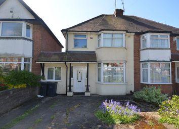 Thumbnail 3 bed semi-detached house for sale in Broad Lane, Kings Heath, Birmingham