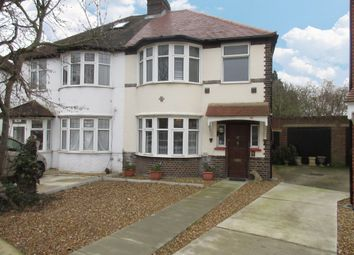 Thumbnail 3 bed semi-detached house for sale in Worton Gardens, Isleworth, Middlesex