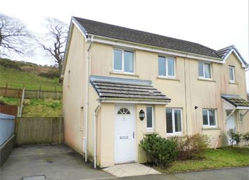 Thumbnail 3 bed semi-detached house for sale in Heol Llwynffynon, Llangeinor, Bridgend, Mid Glamorgan
