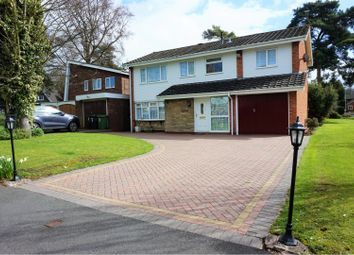 Thumbnail 4 bedroom detached house for sale in Pentland Gardens, Compton, Wolverhampton