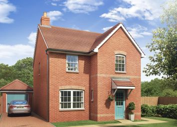 "Thumbnail 3 bed semi-detached house for sale in ""Kingsley"" at Millens Row, Ashford Road, Leaveland, Faversham"