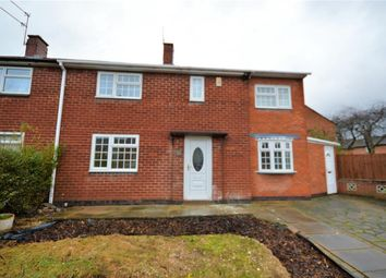 Thumbnail 3 bed semi-detached house for sale in Pen Close, Leicester
