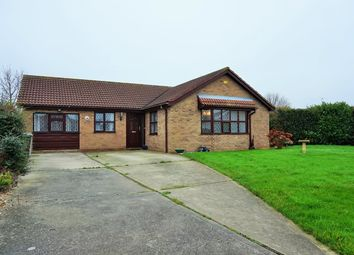 Thumbnail 4 bedroom detached bungalow for sale in Thames Close, Skegness