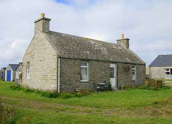 Thumbnail 2 bed cottage for sale in Rusness, North End, Sanday, Orkney