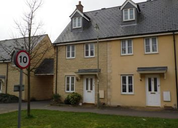 Thumbnail 3 bed end terrace house to rent in Bluebell Way, Carterton