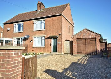 Thumbnail 2 bed semi-detached house for sale in Fring Road, Great Bircham, King's Lynn