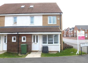 Thumbnail 4 bedroom semi-detached house to rent in Overton Way, Stockton-On-Tees