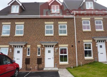 Thumbnail 3 bed terraced house to rent in Beckwith Close, Kirk Merrington, Spennymoor