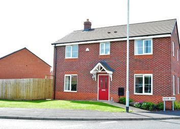 Thumbnail 4 bed detached house for sale in Saxon Drive, Newport
