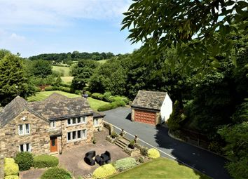Thumbnail 4 bed detached house for sale in Woodend Cottages, Woodend Road, Mirfield