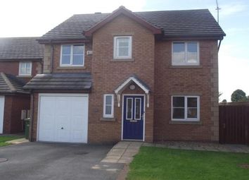 Thumbnail 4 bed detached house to rent in Lon Y Parc, St. Asaph