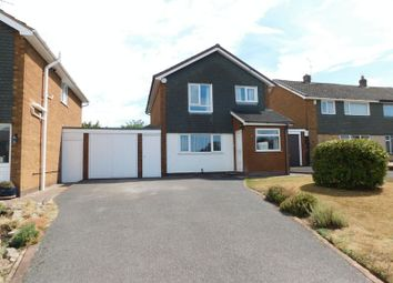 Thumbnail 3 bed detached house for sale in Meadow Way, Stone