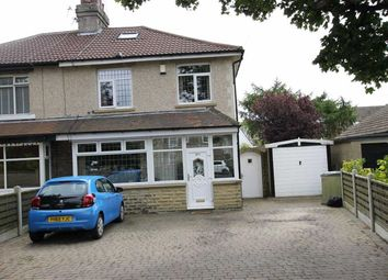 Thumbnail 3 bed semi-detached house for sale in Whitehall Road, Wyke, West Yorkshire