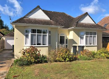 Thumbnail 2 bed detached bungalow for sale in The Broadway, Northbourne, Bournemouth