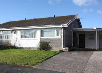 Thumbnail 2 bed semi-detached bungalow for sale in Ffordd Gwenllian, Llanfairpwllgwyngyll