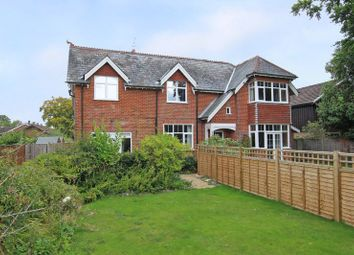 Thumbnail 2 bed semi-detached house for sale in Salisbury Road, West Wellow, Romsey